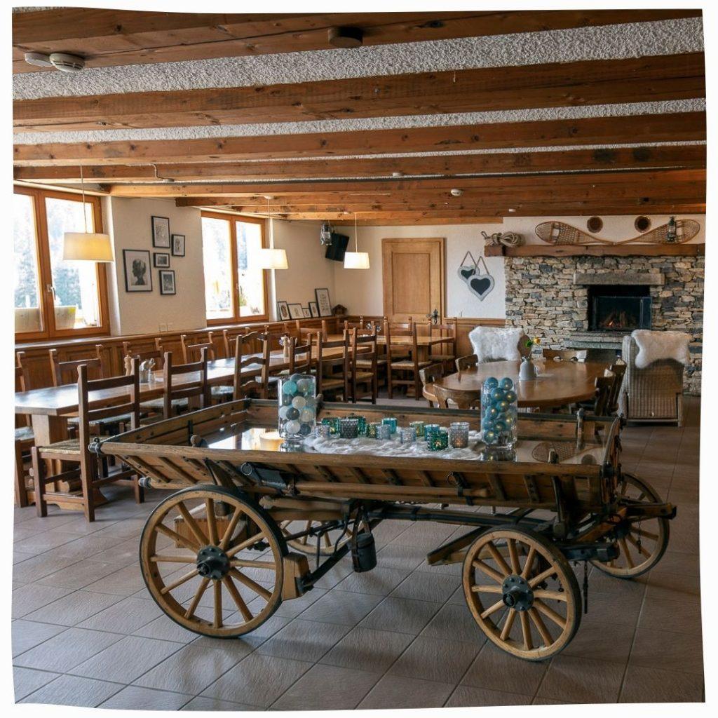 Restaurant Chindonne Places de groupe