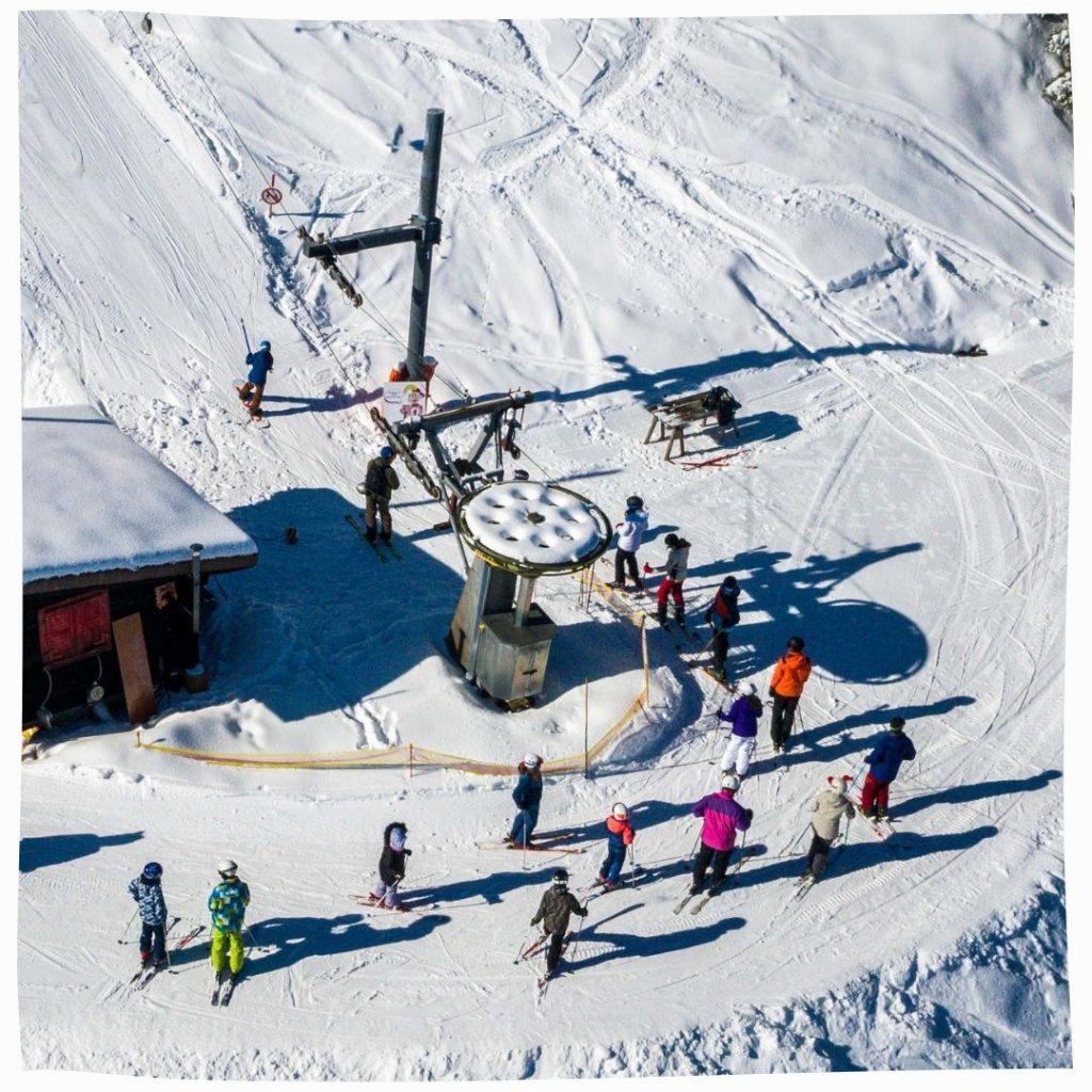 Remontée mécanique gratuite Alpes suisses